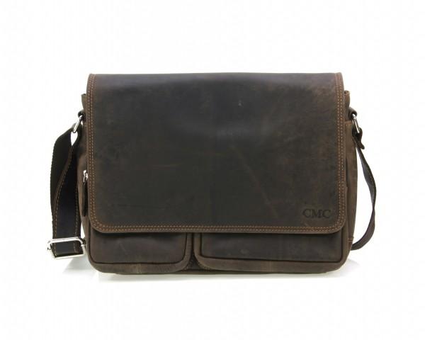 351300 Messenger-Bag Umhängetasche Überschlagtasche